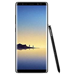Samsung Galaxy Note 8 64GB Unlocked GSM LTE Android Phone w/ Dual 12 Megapixel Camera – Midnight Black