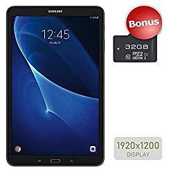 "Samsung Galaxy Tab A 10.1"" Touchscreen (1920×1200) Wi-Fi Tablet, Octa-Core 1.6GHz Processor, 2GB RAM, 16GB Memory, Dual Cameras, Bluetooth, 32GB MicroSD Card, Android OS"