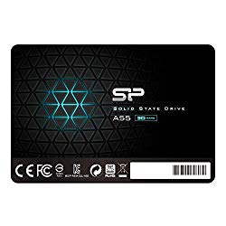 Silicon Power 1TB SSD 3D NAND A55 SLC Cache Performance Boost SATA III 2.5″ 7mm (0.28″) Internal Solid State Drive (SP001TBSS3A55S25)