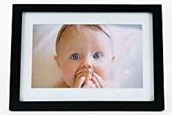 Skylight Frame 916496: 10 inch WiFi Digital Picture Frame, Email Photos from Anywhere, Touch Screen Display