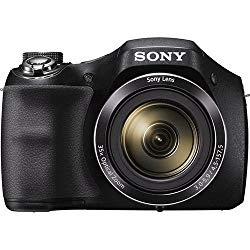 Sony Cyber-shot DSC-H300 20.1 MP Digital Camera – Black – Renewed