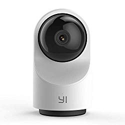 YI Smart Dome Security Camera X, AI-Powered 1080p WiFi IP Home Surveillance System with 24/7 Emergency Response, Human Detect, Sound Analytics, Time Lapse for Dog, Pet, Cat Monitor – Works with Alexa