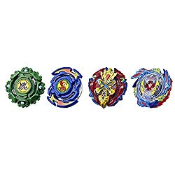 Beyblade Burst Evolution Elite Warrior 4-Pack – 4 Iconic Right-Spin Battling Tops, Age 8+ Toy (Amazon Exclusive)