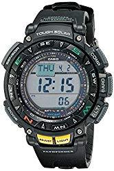 Casio Men's Pathfinder PAG240 Solar Powered Triple Sensor Sport Watch