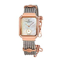 Charriol St-Tropez Diamond White Mother of Pearl Dial Ladies Watch STREPD2.560.004