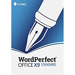 Corel WordPerfect Office X9 – All in One Office Suite – Upgrade [PC Download]