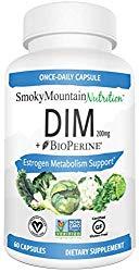 DIM Supplement 200mg – DIM Diindolylmethane Plus BioPerine 60-Day Supply of DIM for Estrogen Balance, Hormone Menopause Relief, Acne Treatment, PCOS, Bodybuilding