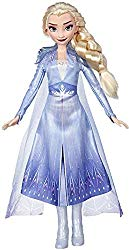 Disney Frozen Elsa Fashion Doll with Long Blonde Hair & Blue Outfit Inspired by Frozen 2 – Toy for Kids 3 Years Old & Up