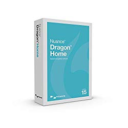 Dragon Home 15.0, Dictate Documents and Control your PC – all by Voice, [PC Disc]