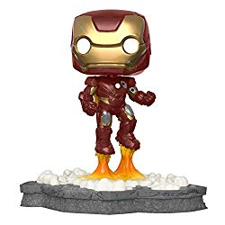 Funko 45610 Pop! Deluxe, Marvel: Avengers Assemble Series – Iron Man, Amazon Exclusive, Figure 1 of 6