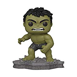 Funko Pop! Deluxe, Marvel: Avengers Assemble Series – Hulk, Amazon Exclusive, Figure 2 of 6