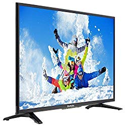 Komodo by Sceptre 32″ 720p MHL HDMI X2 LED HDTV, Metal Black 2019 (KX-322)