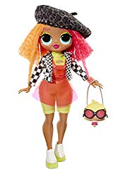 L.O.L Surprise! O.M.G. Neonlicious Fashion Doll with 20 Surprises