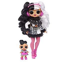 L.O.L Surprise! O.M.G. Winter Disco Dollie Fashion Doll & Sister