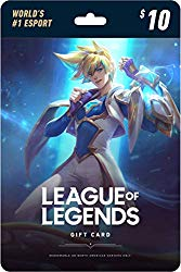 League of Legends $10 Gift Card – NA Server Only [Online Game Code]