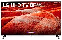 LG 86UM8070PUA 86″ 4K Ultra HD Smart LED TV (2019), Black
