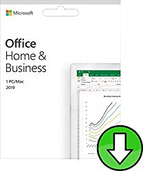 Microsoft® Office Home and Business 2019 | Multilingual | 1 PC (Windows 10)/Mac | Life Time License | Key Card