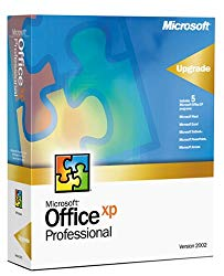 Microsoft Office XP Professional Upgrade [Old Version]