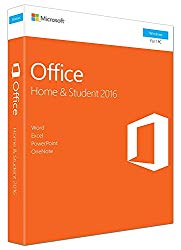 Office 2016 Home and Student for Windows English Language Product Key Card USA – Word, Excel, PowerPoint, OneNote