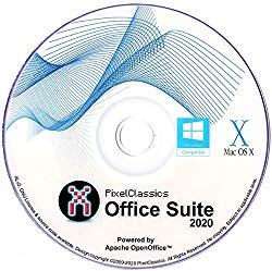 Office Suite 2020 Microsoft Word 2019 2016 2013 2010 2007 365 Compatible Software CD Powered by Apache OpenOfficeTM for PC Windows 10 8.1 8 7 Vista XP 32 64 Bit & Mac OS X – No Yearly Subscription!