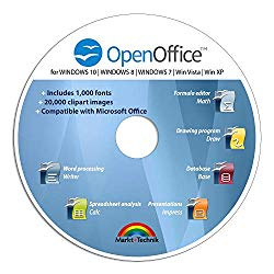 Office Suite Special Edition for Windows 10-8-7-Vista-XP | PC Software and 1.000 New Fonts | Alternative to Microsoft Office | Compatible with Word, Excel and PowerPoint