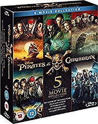 Pirates of the Caribbean – Complete Collection [Blu-ray]