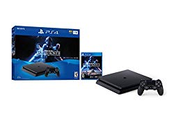 PlayStation 4 Slim 1TB Console – Star Wars Battlefront II Bundle [Discontinued] (Renewed)
