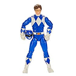 Power Rangers Lightning Collection Mighty Morphin Blue Ranger 6-Inch Premium Collectible Action Figure Toy with Accessories