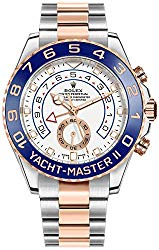 Rolex Yacht-Master II Oystersteel and Everose Gold Men's Watch 116681