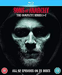 Sons Of Anarchy – Complete Seasons 1-7 [Blu-ray] [Region Free]