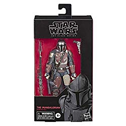 Star Wars The Black Series The Mandalorian Toy 6″ Scale Collectible Action Figure, Toys for Kids Ages 4 & Up
