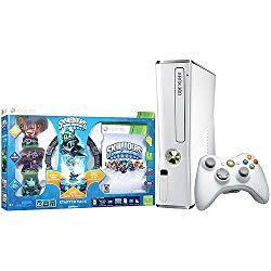 Xbox 360 Slim White 4gb Skylanders Special Edition Bundle