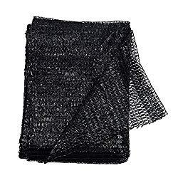 40% Black 6.5'x10′ Sun Mesh Shade Sunblock Shade UV Resistant Net for Garden Flower Plant
