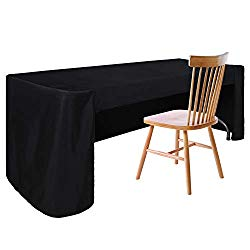 ABCCANOPY Rectangle Tablecloth Table Cover 6 FT for Garden BBQ in Washable Polyester Great for Patio Home Parties Holiday Celebration