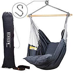 Bengum Hammock Chair Hanging Swing Indoor And Outdoor Use