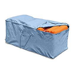 Budge All-Seasons Cushion Storage Bag P9A10BG1, Blue (19.5 H x 47.5 W x 18 D)