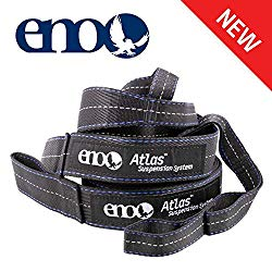 ENO – Eagles Nest Outfitters Atlas Hammock Straps, Suspension System with Storage Bag, 400 LB Capacity, 9′ x 1.5/.75″