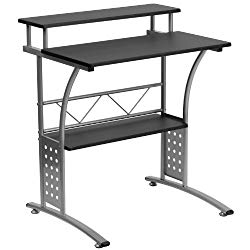 Flash Furniture Clifton Black Computer Desk