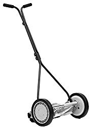 Great States 415-16 16-Inch 5-Blade Push Reel Lawn Mower, 16-Inch, 5-Blade, Silver