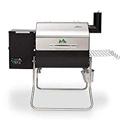 Green Mountain Grills Davy Crockett WiFi Controlled Portable Wood Pellet Grill – DCWF