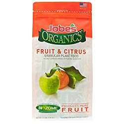 Jobe's Organics 09226 FBA_B0030EK5JE Fruit & Citrus Fertilizer with Biozome, 3-5-5 Organic, 4 lb
