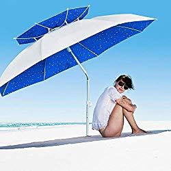 Multi-Functional Outdoor Sunshade Umbrella Suitable for Fishing, Beach, Pool, Terrace, Park