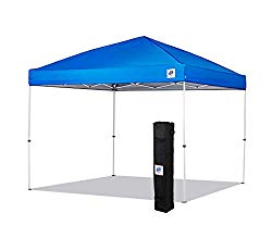 NEW E-Z UP Envoy Instant Shelter Canopy, 10 by 10′, Royal Blue