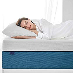 Queen Size Mattress, Molblly 10 inch Cooling-Gel Memory Foam Mattress in a Box, Breathable Bed Mattress with CertiPUR-US Certified Foam for Sleep Supportive & Pressure Relief, 10 Year Warranty