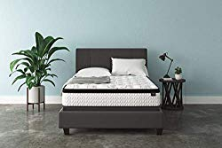 Signature Design by Ashley – 12 Inch Chime Express Hybrid Innerspring – Firm Mattress – Bed in a Box – Queen – White